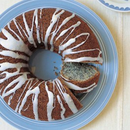 Lemon and Poppy Seed Cake, with a drizzle of drizzle, on Conde Nast