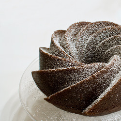 Fluted bundt tin for Chocolate Guinness Cake