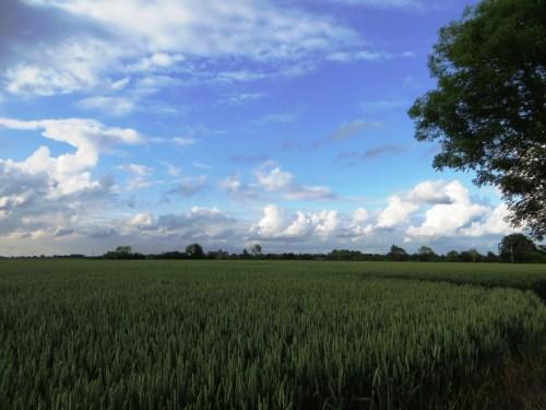 Clouds over Cratfield