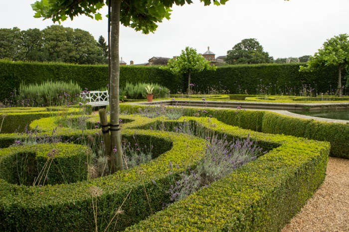 The Mediterranean Garden in the Walled Garden