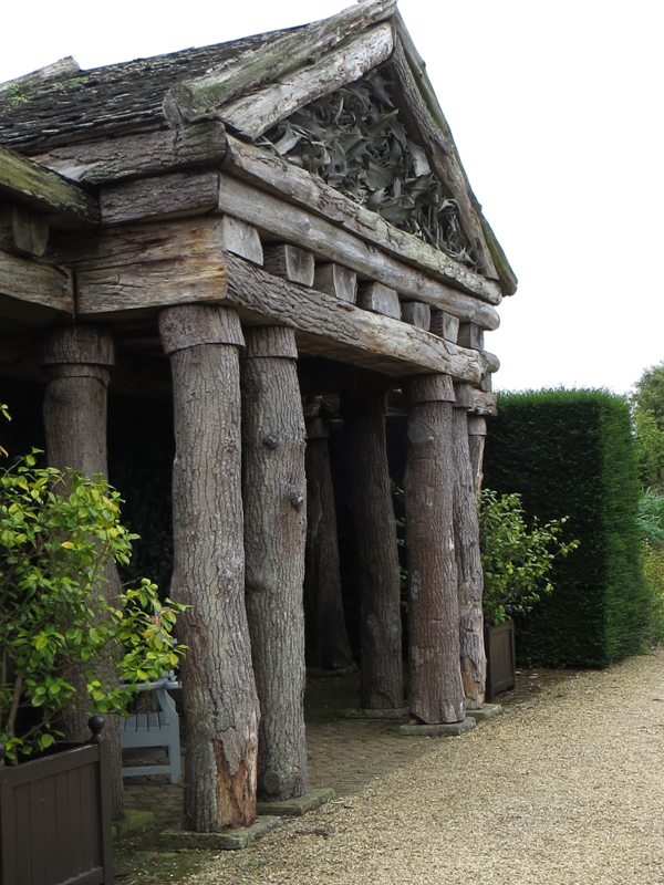 The Rustic Temple in the Walled Garden