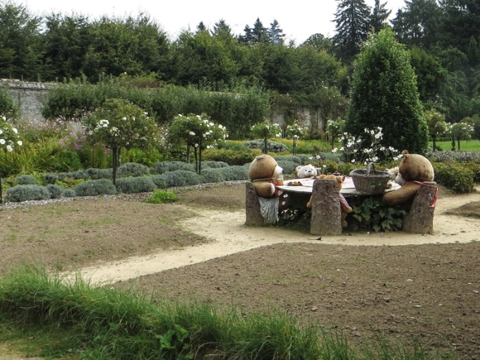 A Teddy Bear's Picnic in the Walled Garden