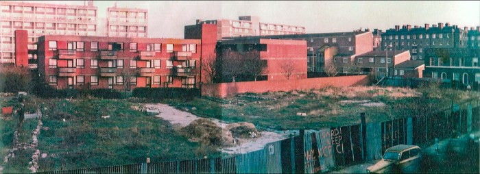 Early days at Cable Street (http://www.cablestreetcommunitygardens.co.uk/pics_earlydays.html)