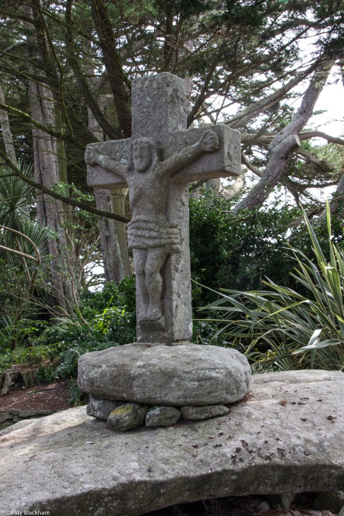 The Calvary in the Georges Delaselle Gardens