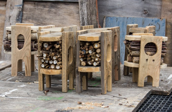 Bug Hotel production