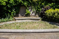 The formal garden in Sayes Court Park?