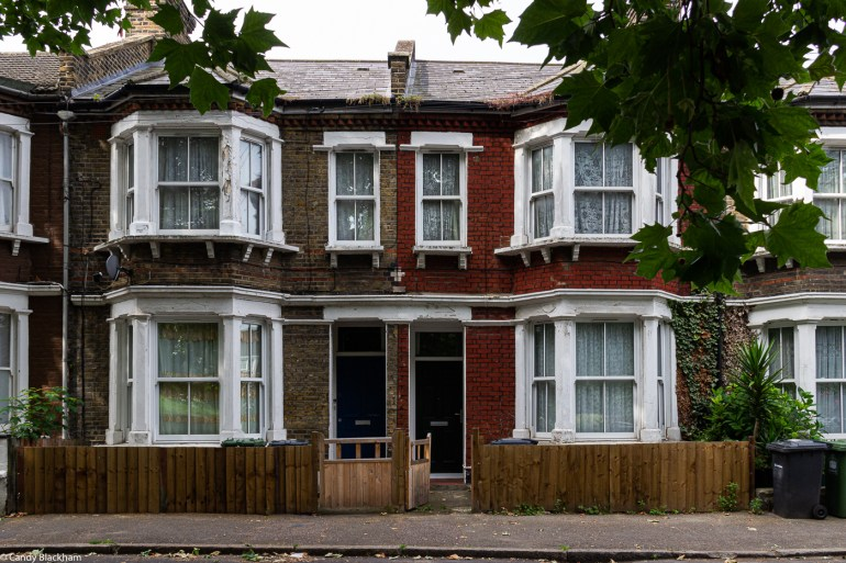 Mid-Victorian housing on Childeric Road