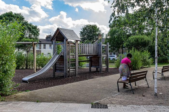 Children's play area in Charlottenburg Park