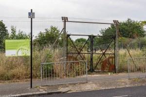 The Deptford Railway Meadow in Friendly Gardens, entrance on Lucas Street