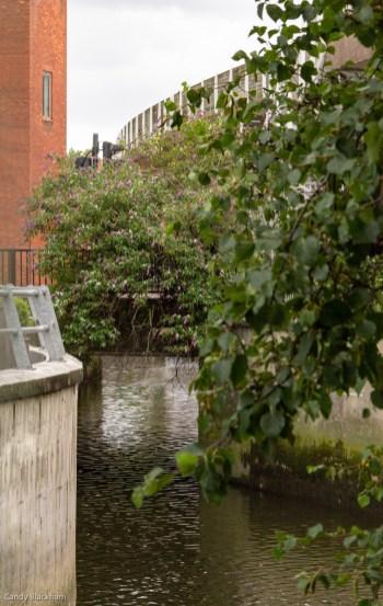 The River Ravensbourne at Deptford Bridge