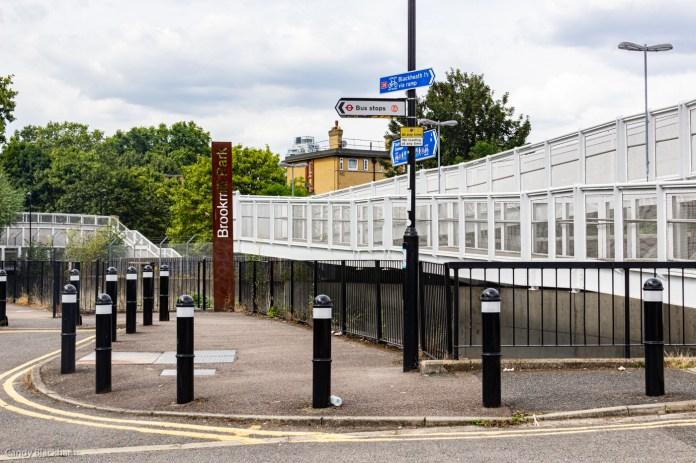 Elverson Road DLR Station