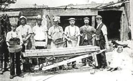 Brickmaking, Blythe Hill Fields, c.1890 (ideal-homes.org.uk-lewisham)