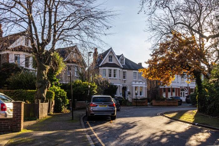 Houses in Lewisham Park Road