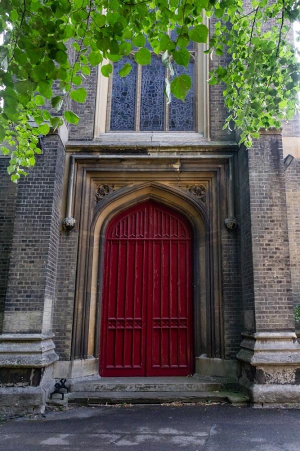 West Door of St Bartholomew's Church in Sydenham