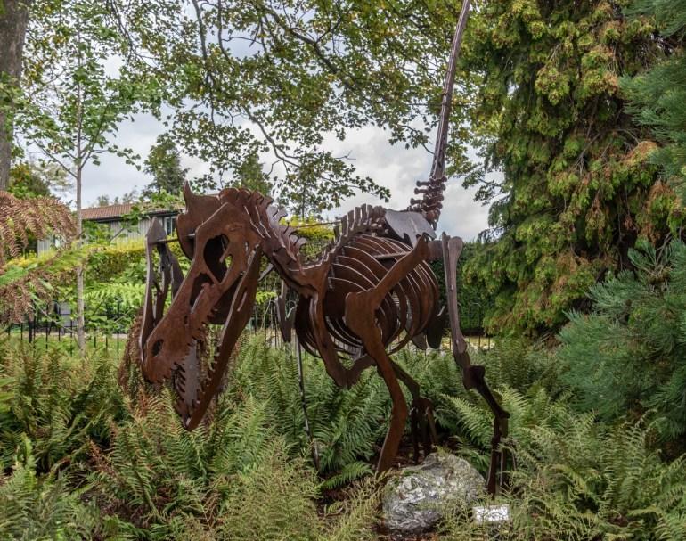 Prehistoric garden in the Horniman Museum & gardens