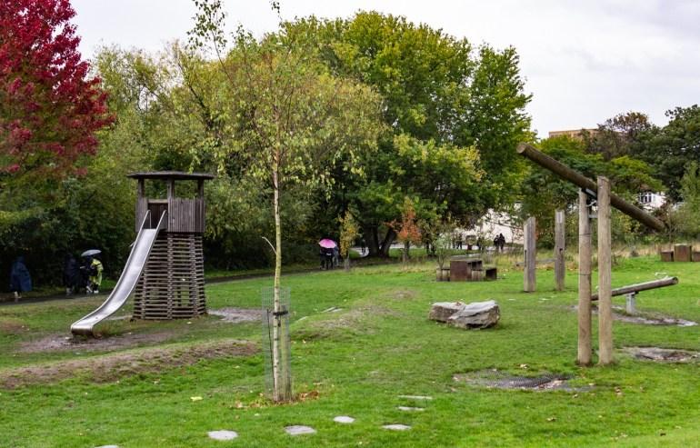 Children's play area South Field in Ladywell Fields