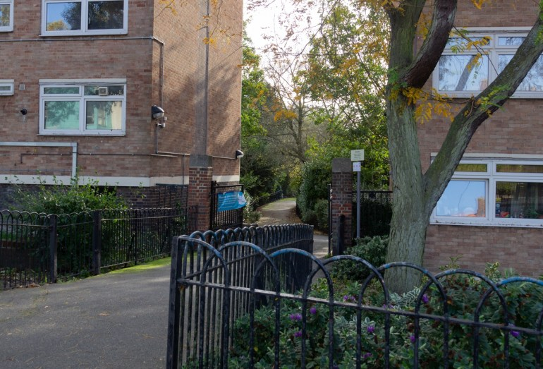 Entrance from Southend Lane