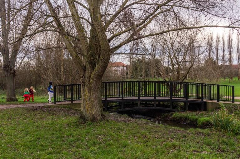 In Chinbrook Meadows in Grove Park