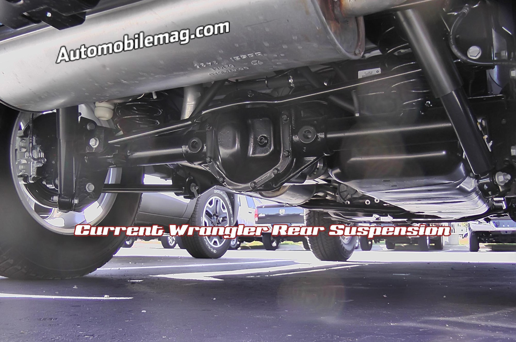 hight resolution of current wrangler suspension