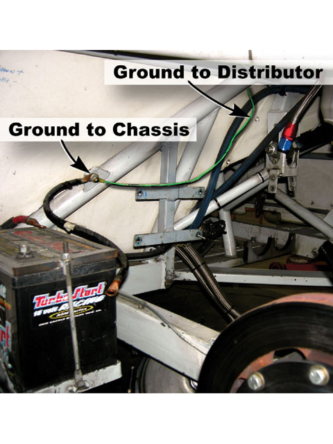 power circle diagram 12s plug wiring race car - street stock 101 hot rod network