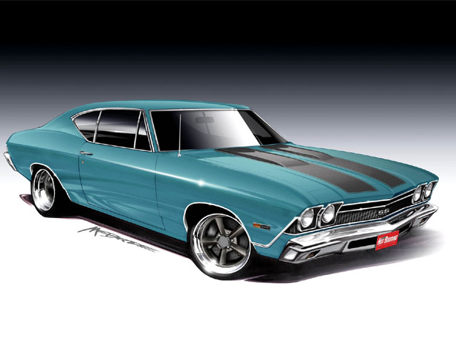65 Chevelle Dual Exhaust