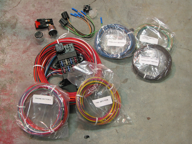 21 Circuit Customizable 196676 Mopar Chassis Harness