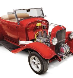 it s missing the hood and rollbar and has torq thrusts instead of slot mags but john wentworth s 1932 roadster looks a lot like it did when it was on the  [ 1600 x 1200 Pixel ]