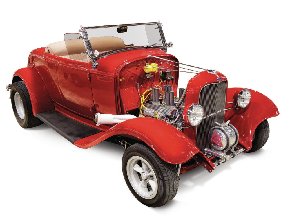 medium resolution of it s missing the hood and rollbar and has torq thrusts instead of slot mags but john wentworth s 1932 roadster looks a lot like it did when it was on the