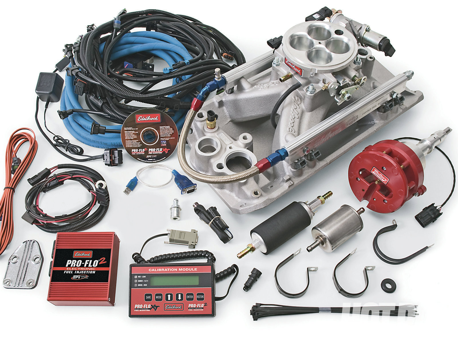 hight resolution of edelbrock s pro flo 2 amc efi system features fully sequential firing and is tunable via