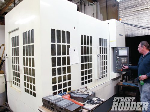 small resolution of the other thing that made this process easy is having friends with 250 000 kitamura machining centers