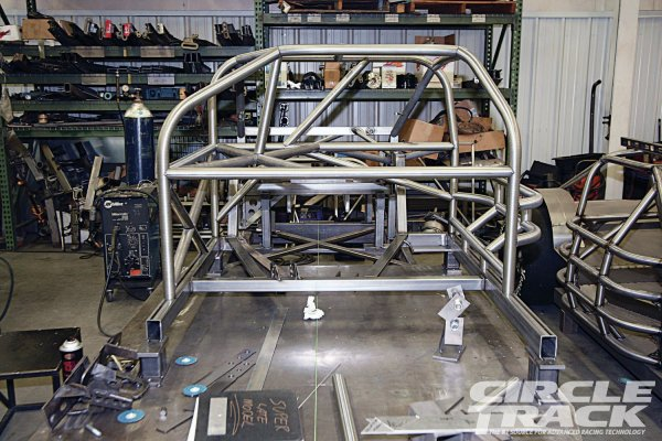 Super Late Model Chassis With Twist - Hot Rod Network