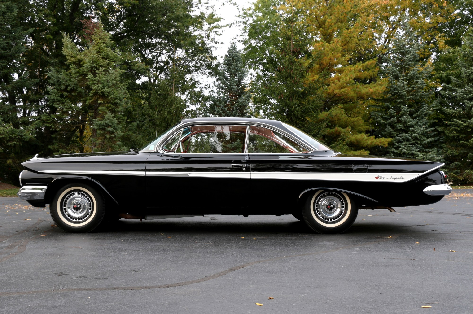 hight resolution of this view of david steinberg s original unrestored impala shows off the styling improvements made to the