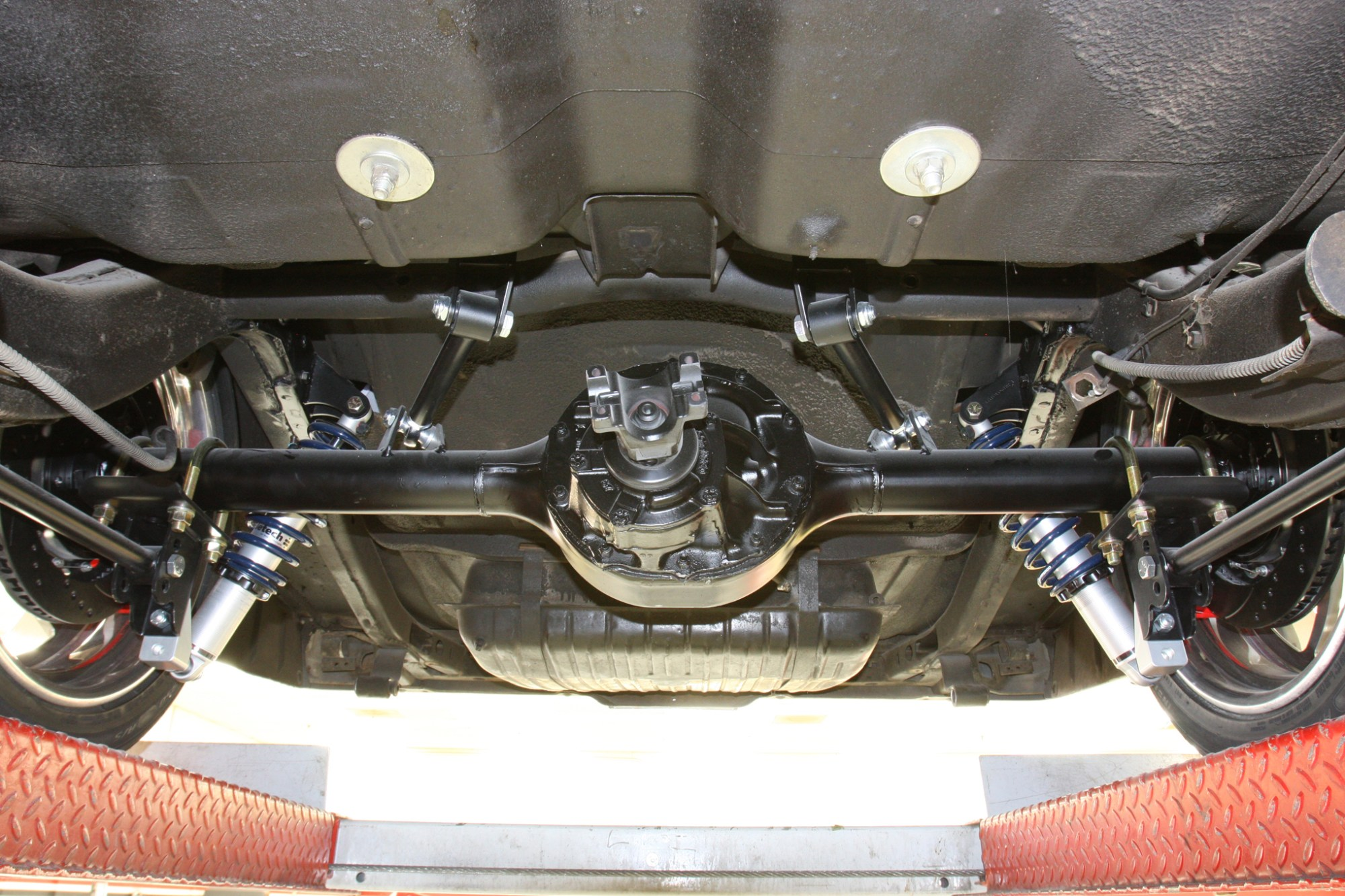 hight resolution of 1964 galaxie gets wilwood brakes ride tech suspension and billet specialties wheels hot rod network