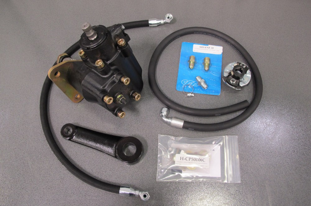 medium resolution of converting a 55 59 3100 chevy to power steering
