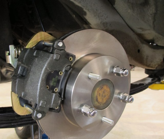 Should You Be Installing It On A   Chevy Rearend In Another Application It Requires  Inches Minimum Distance From