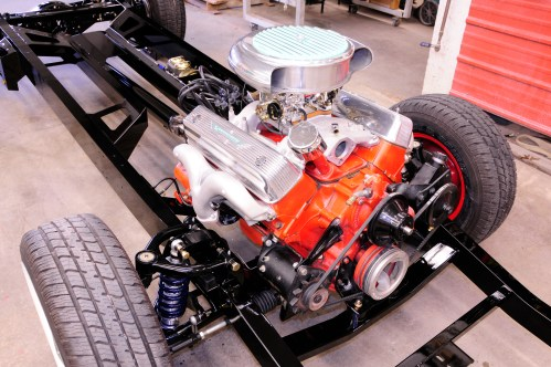 small resolution of  swapping a modern chassis under a vintage ford hot rod network