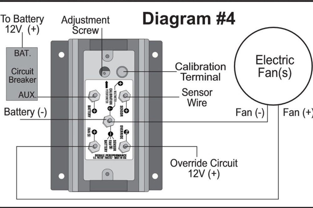 medium resolution of the derale fan controller can save your electrical wiring hot rodderale relay wiring diagram