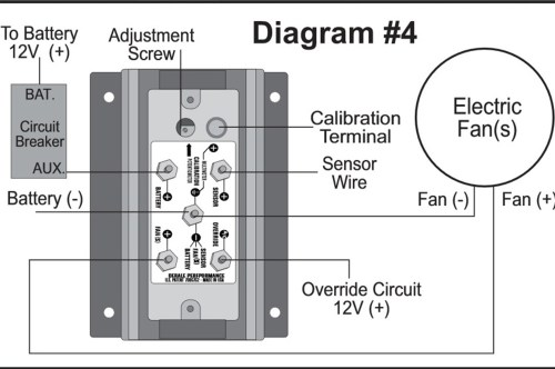 small resolution of the derale fan controller can save your electrical wiring hot rodderale relay wiring diagram