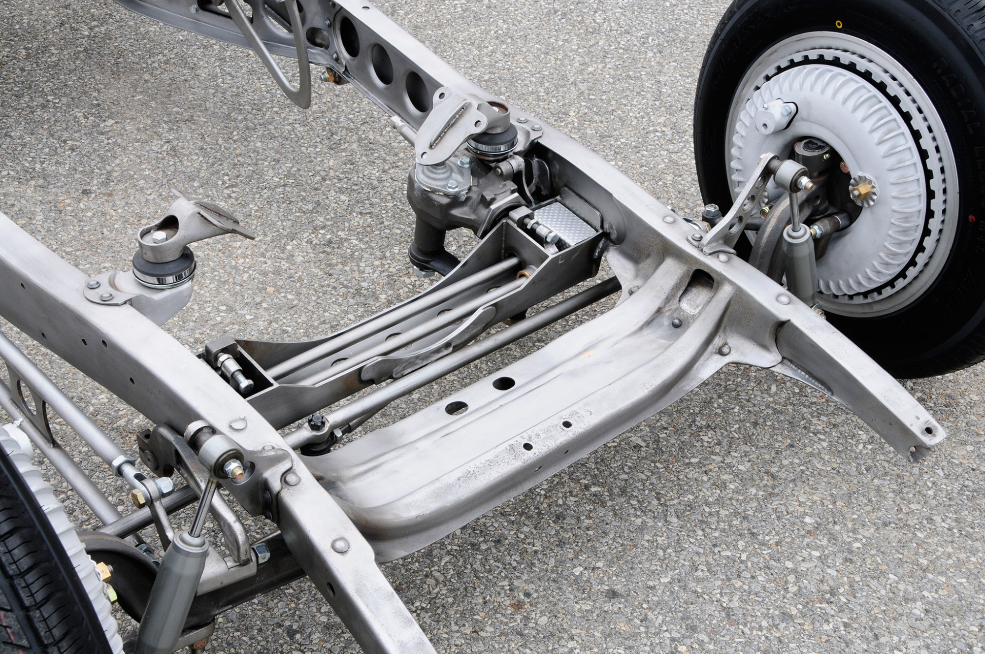 hight resolution of check out the work lesky did modifying a torsion bar suspension that started with parts from