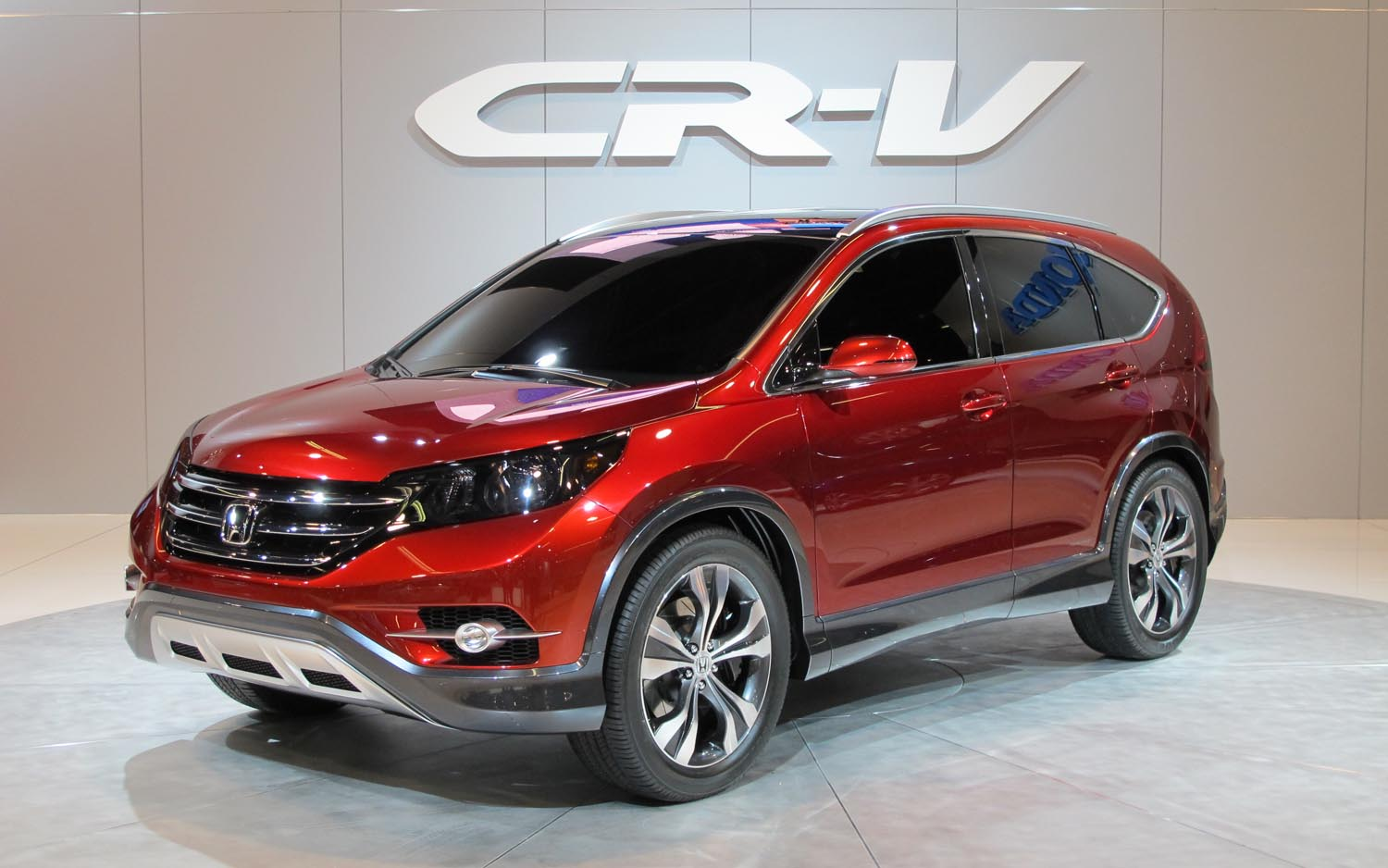 honda cr v concept comes to california gets new engine [ 1500 x 938 Pixel ]