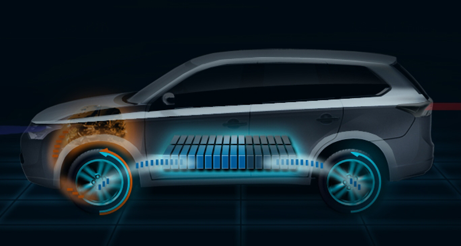 small resolution of 2013 mitsubishi outlander plug in 4wd hybrid to debut in paris