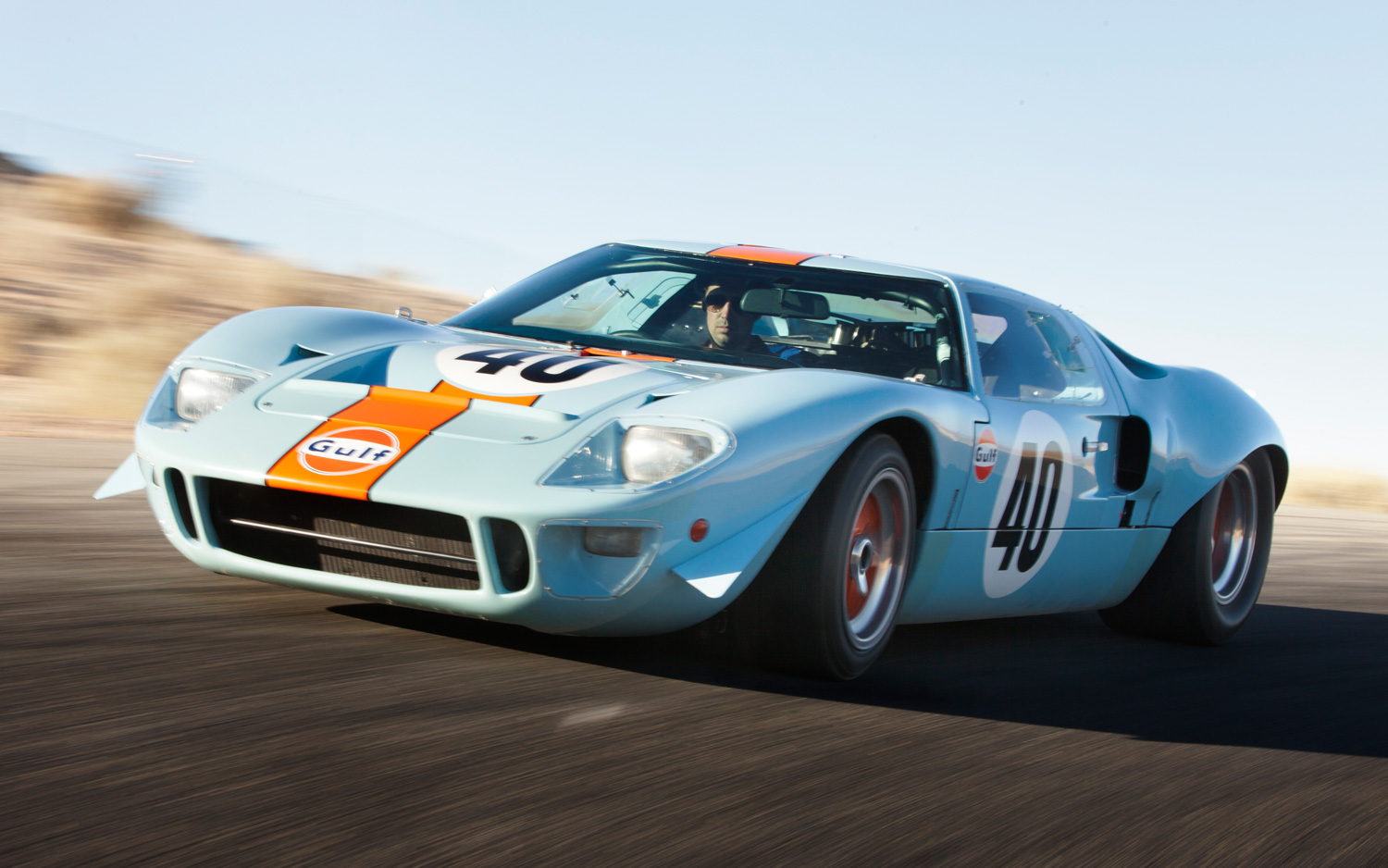 medium resolution of ford gt40 le mans race car sets auction record at 11 million