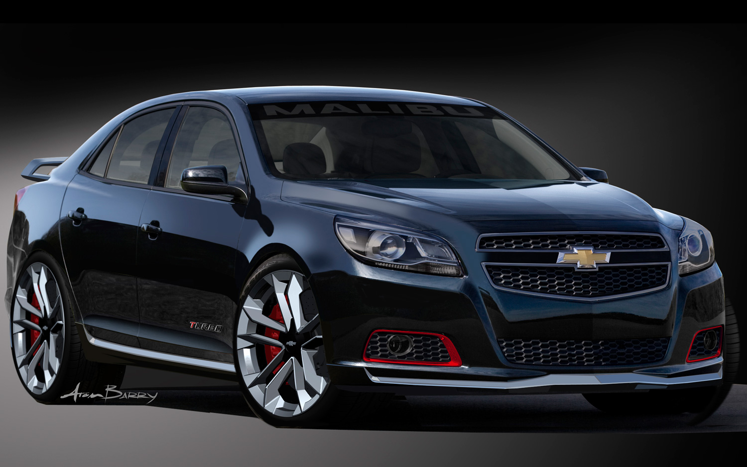hight resolution of sema sedans 2013 chevrolet malibu turbo and 2014 chevrolet impala ready for sema
