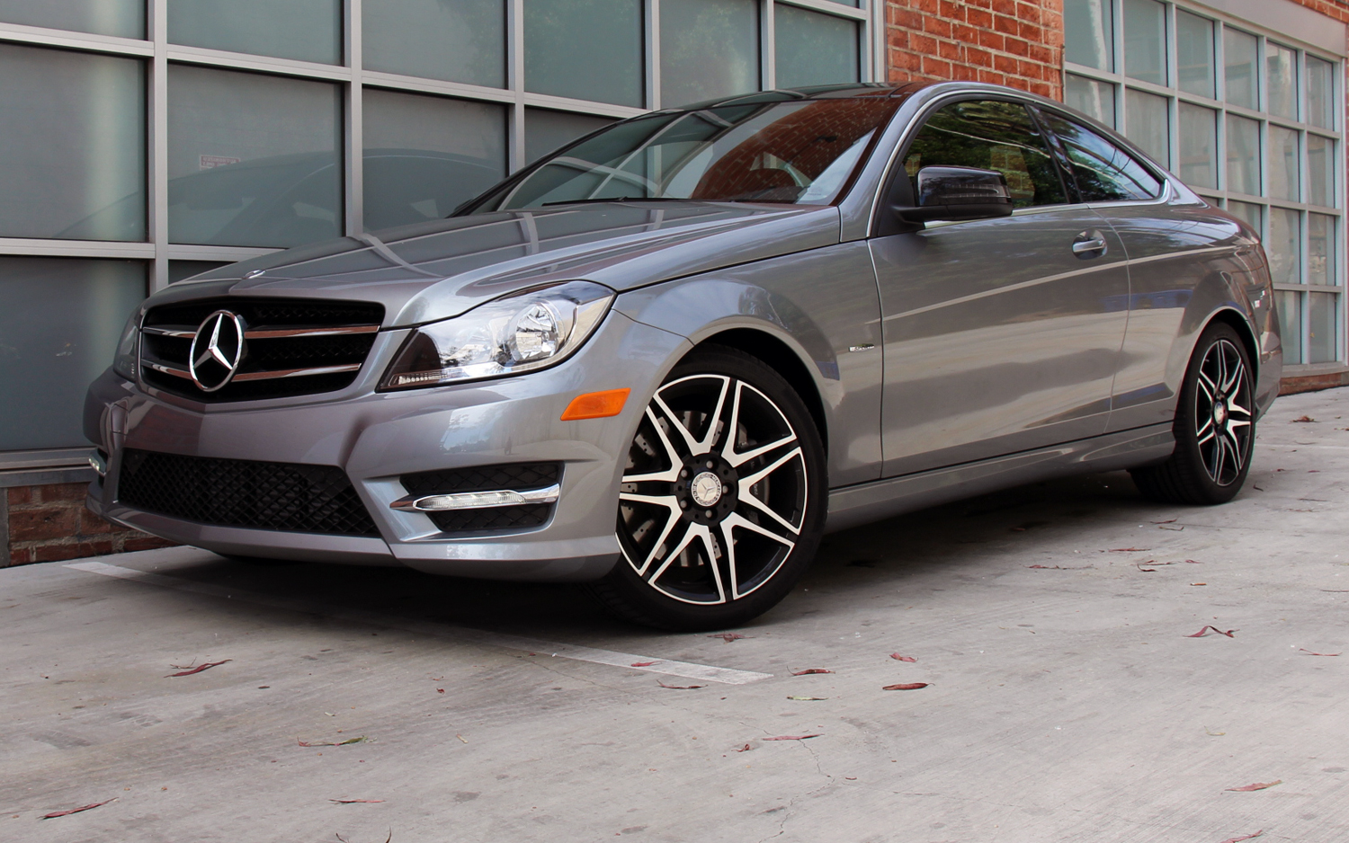 2013 mercedes benz c250 coupe w sport package first drive [ 1500 x 938 Pixel ]