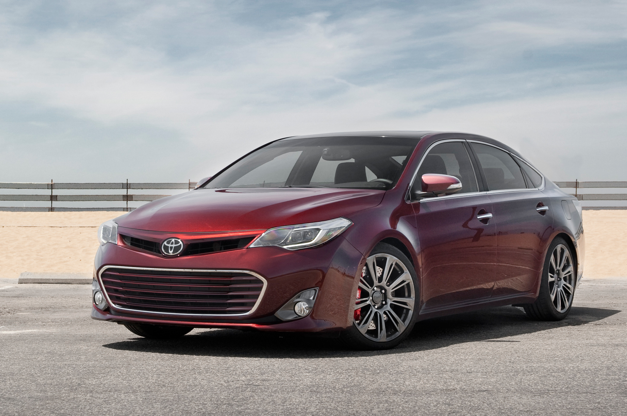 hight resolution of 2013 toyota avalon trd edition first test