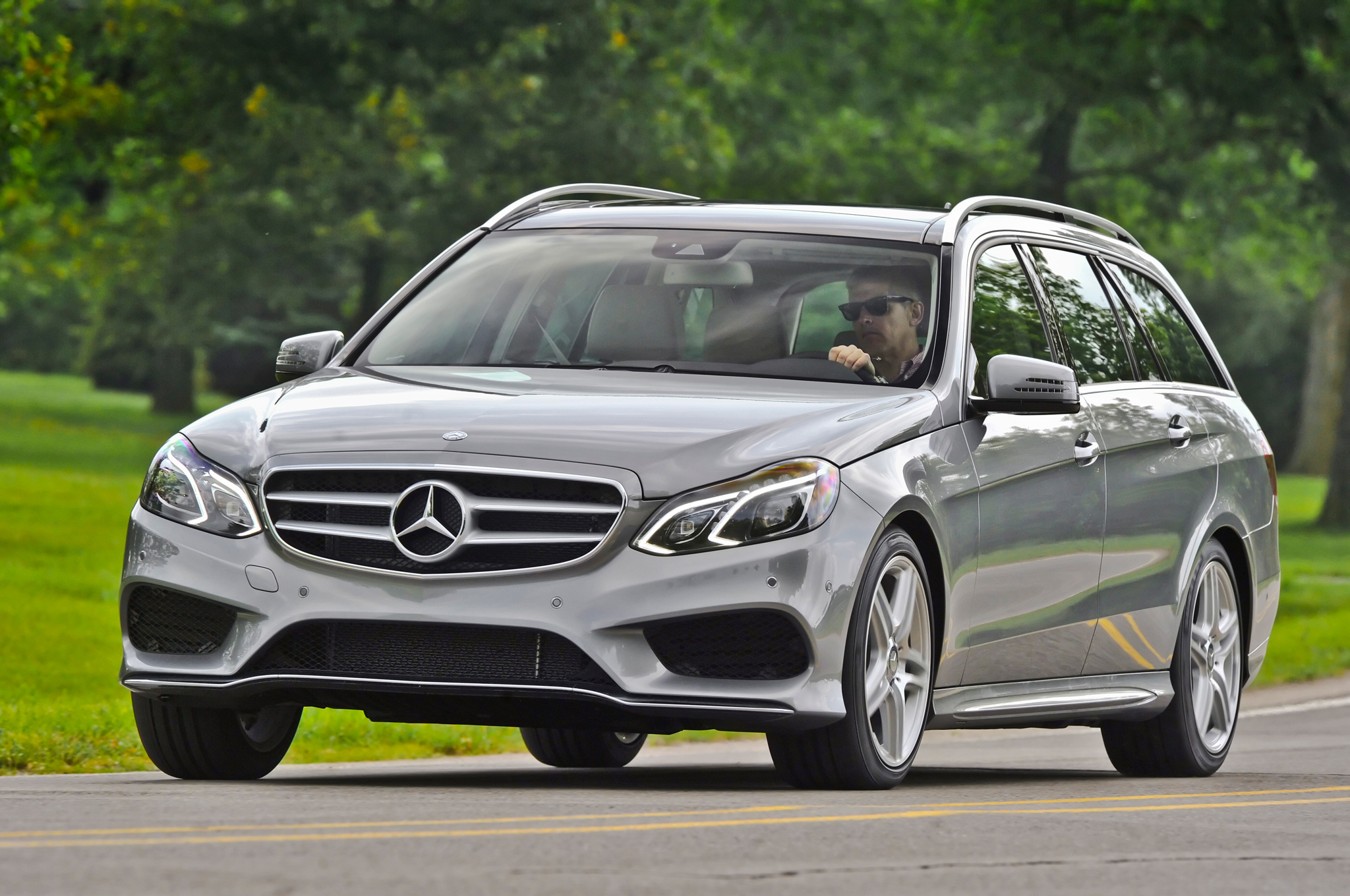 medium resolution of 2014 mercedes benz e350 4matic wagon first drive