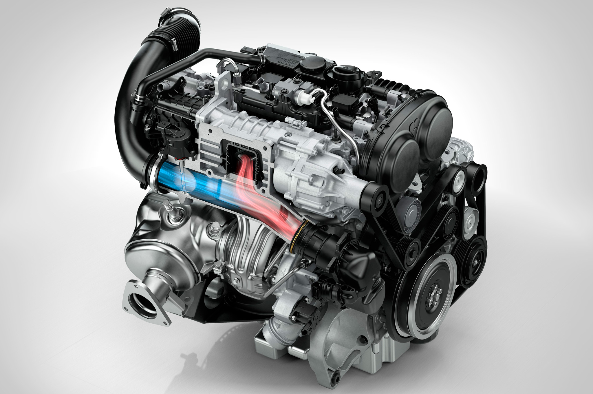 hight resolution of new volvo engine family includes 302 hp twin charged i 4 motor trend rh motortrend com 4 6l engine diagram wisconsin v4 engine specs