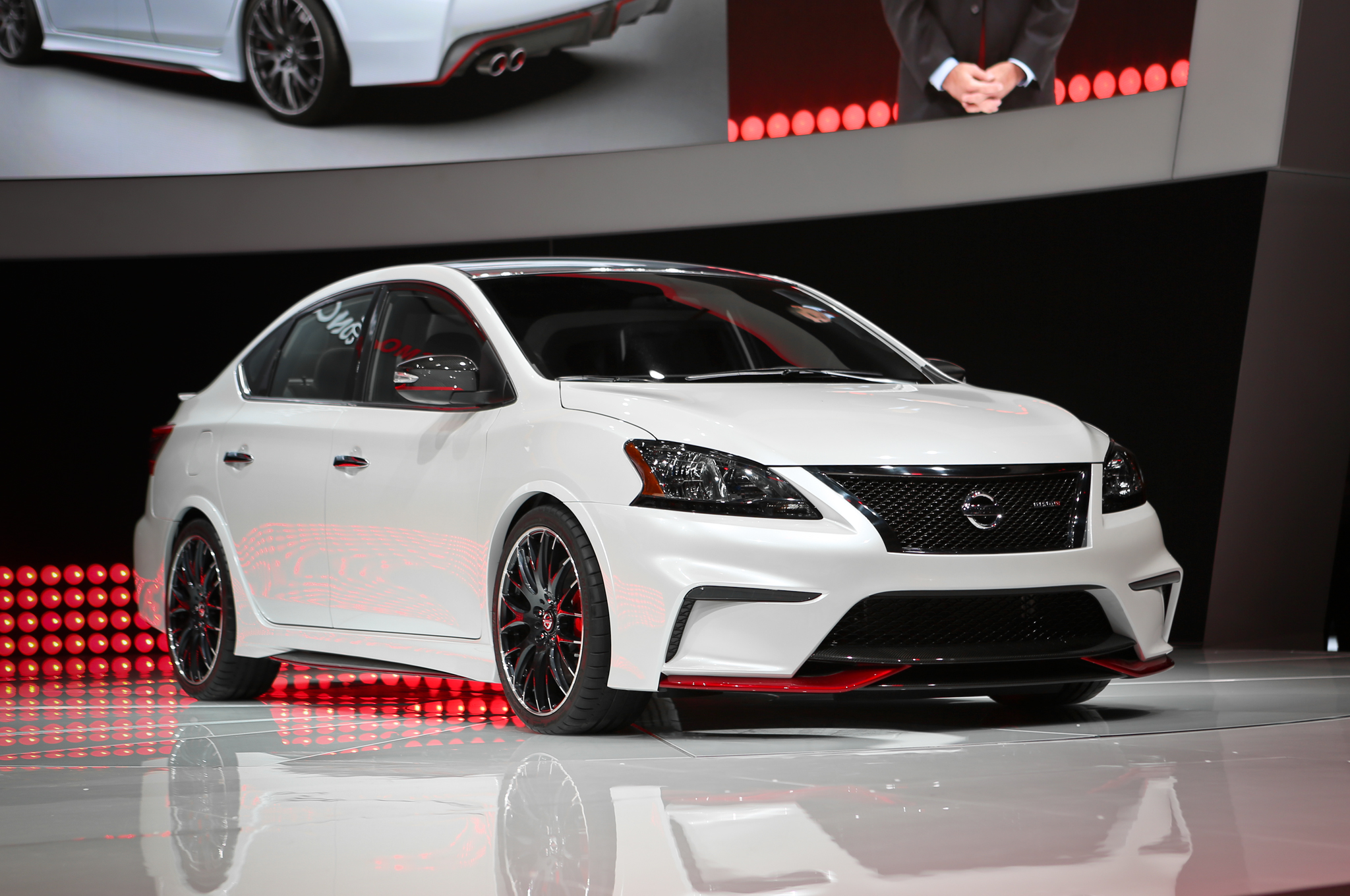 nissan sentra nismo concept debuts with 240 hp turbo i 4 [ 2048 x 1360 Pixel ]