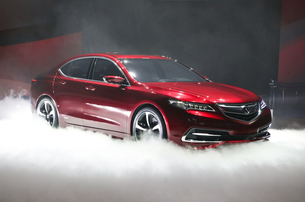medium resolution of acura tlx prototype unveiled brings sexy back to brand