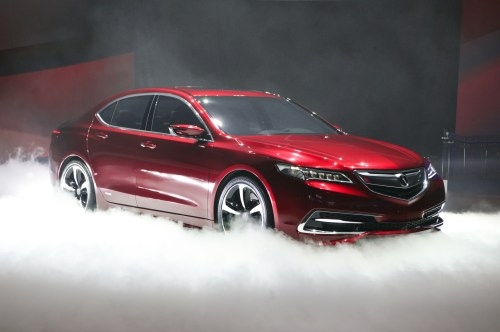 small resolution of acura tlx prototype unveiled brings sexy back to brand